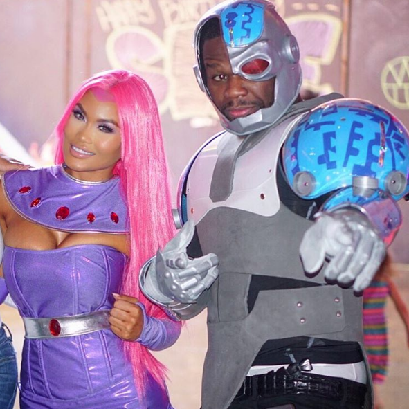 50 Cent Throws Son Sire Jackson, Teen Titans Birthday Party [Photos]