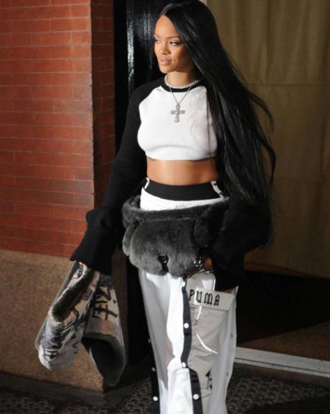 Rihanna Launches Fenty x Puma Collection [Photos]