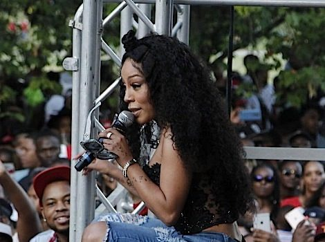 K.Michelle Honored At Pure Heat Community Festival + Mimi Faust, Erica Mena, Tiffany Evans Attend [Photos]