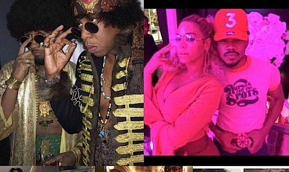 Beyonce Throws Soul Train Themed B-Day Party: Kendrick Lamar, Swizz Beatz, Alicia Keys, Kelly Rowland, Lala & Carmelo Anthony, Cassie & Diddy Attend [Photos]