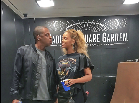 Beyonce & Jay Z Hit Kanye's Pablo Tour in NYC [Photos]
