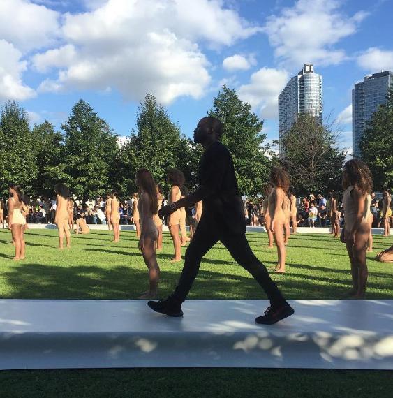 Kanye West Presents Yeezy Season 4 at NYFW [Photos]