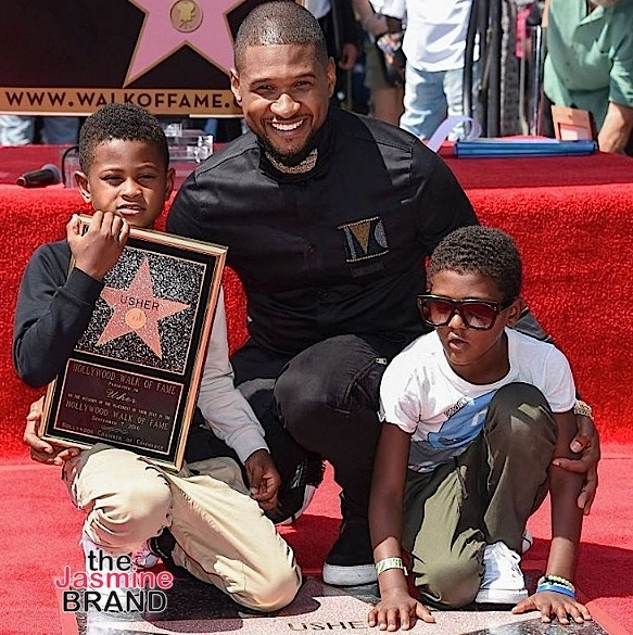 Usher Receives Star on the Hollywood Walk of Fame [Photos]