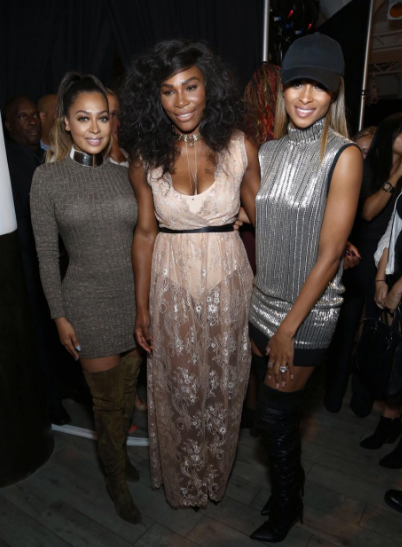 Girl Power: Ciara, Lala Anthony, Naturi Naughton Support Serena Williams At NYFW [Photos]
