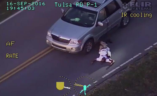 Terence Crutcher: Unarmed Black Man Shot by Police [Disturbing Video]