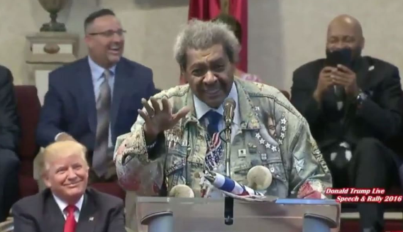 Awkward Much? Don King Says N*gga In Front of Donald Trump [VIDEO]