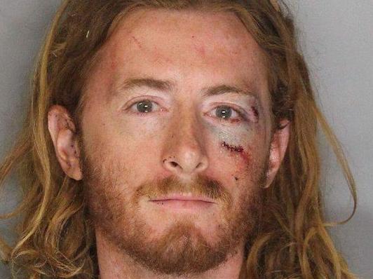 Sean Thompson's mugshot. (Photo: Sacramento Police Department)