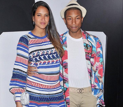 Pharrell Williams & Wife Helen Expecting 2nd Child [Ovary Hustlin']