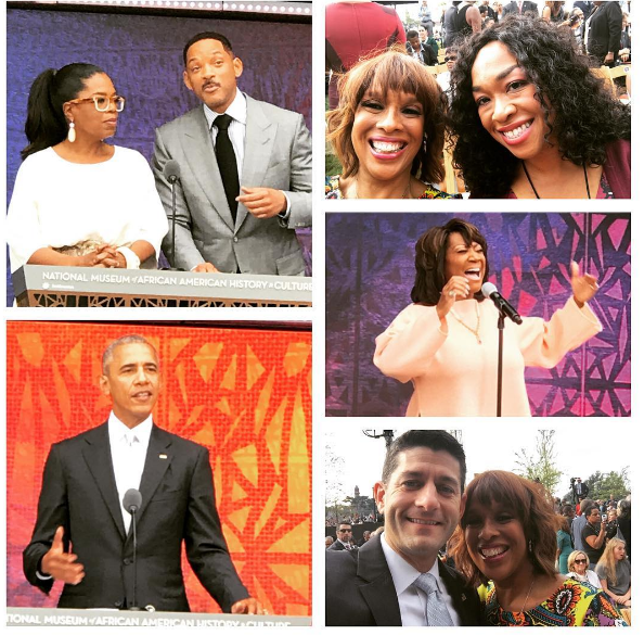 Celebs Attend National Museum of African American History Opening: Oprah, Stevie Wonder, Patti Labelle, Will Smith, Shonda Rhimes, Ava DuVernay, Lupita Nyong'o, Will Smith, Dave Chappelle