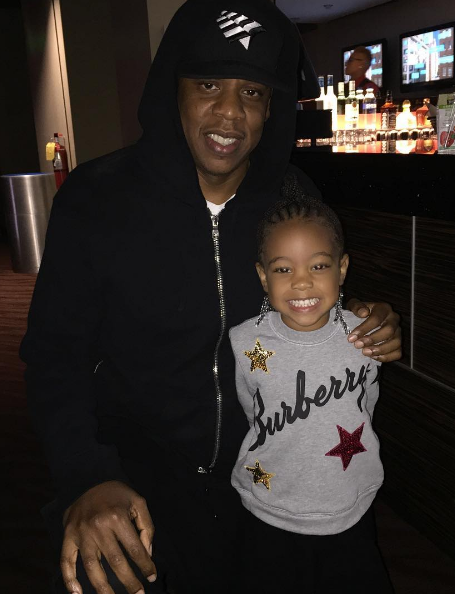 Celebs Spotted at Beyonce's Formation Tour In ATL - Jay Z & singer Monica's daughter Laiyah