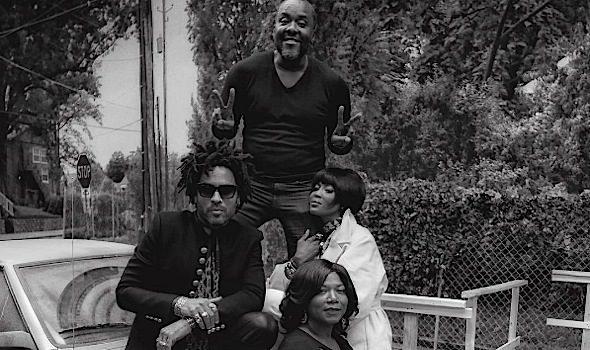 Lee Daniels Films 'Star' With Queen Latifah, Lenny Kravitz & Naomi Campbell [Photos]