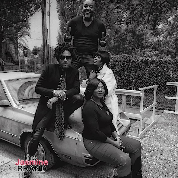 Lee Daniels Films 'Star' With Queen Latifah, Lenny Kravitz & Naomi Campbell [Photos]