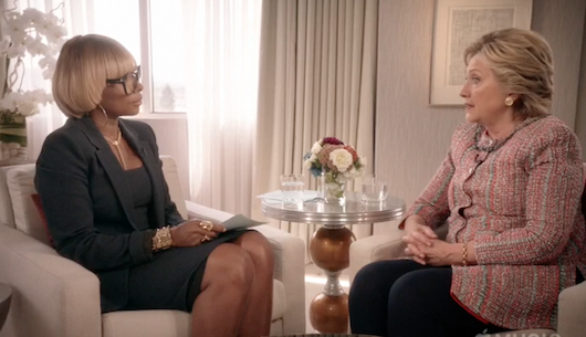 Hillary Clinton 'Heartbroken' By Recent Killings of Unarmed Black Men By Police: I want white people to understand. + Watch Full Mary J. Blige Interview