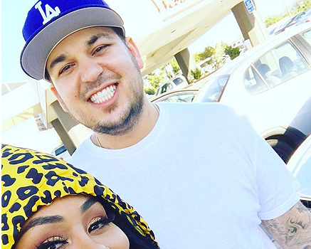 Blac Chyna Tweets Rob Kardashian's Number: Stop texting other b*tches!