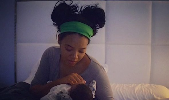 Angela Simmons Welcomes Baby Boy! [Photo]