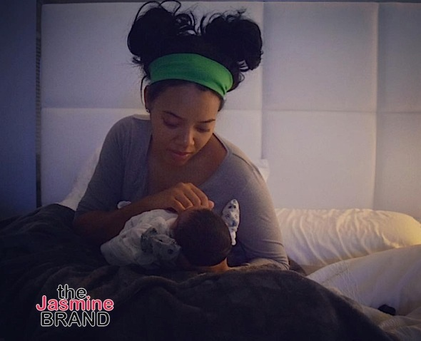 Angela Simmons Welcomes Baby Boy! [Photo]