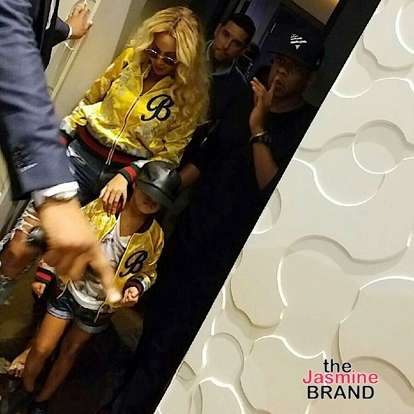 Blue Ivy, Beyonce, Jay Z & The Dream Hit Cowboys Game [Photos]