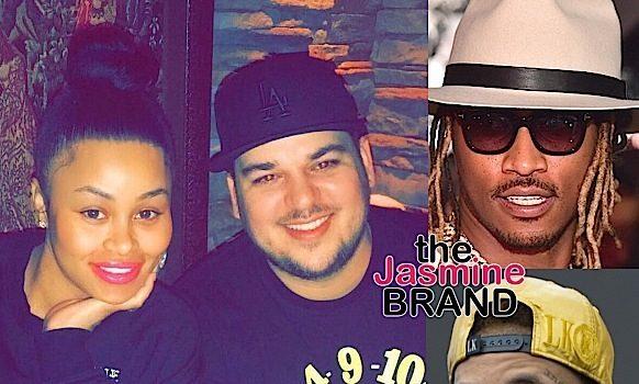 Rob Kardashian Thinks Blac Chyna Will Leave Him For A Rapper