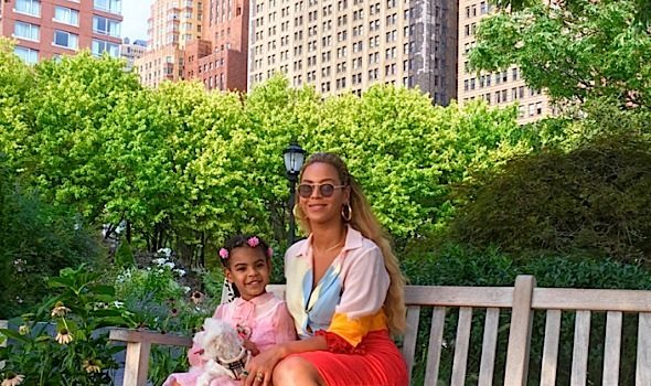 See Beyonce & Blue Ivy's NYC Photo Shoot!