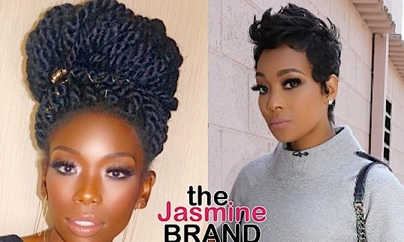 Monica Not Bothered By Rumored Beef With Singer Brandy [VIDEO]