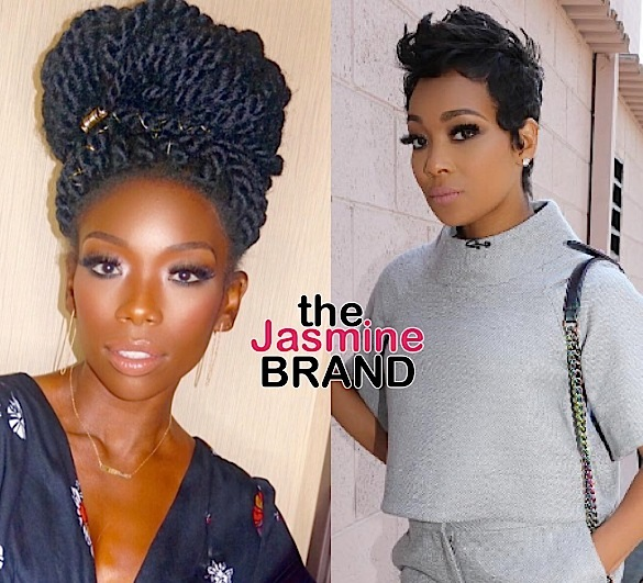 Brandy Shades Monica During Performance [VIDEO]
