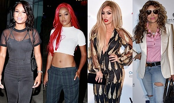 Keke Palmer & Christina Milian Hit Summer 16 + Angel Brinks, LaToya Jackson & Paula Jai Parker Attend Red Carpet Ready Lounge [Photos]