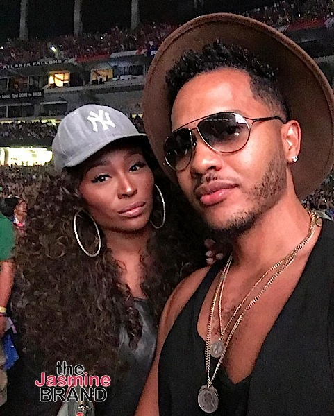 Celebs Spotted at Beyonce's Formation Tour In ATL - cynthia-bailey-formation