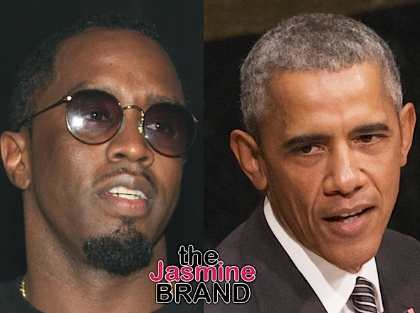 Sean 'Diddy' Combs, President Barack Obama