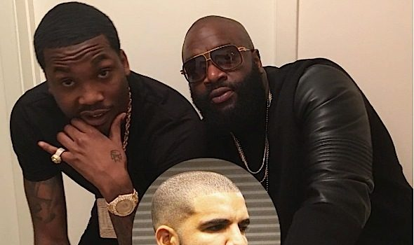 Rick Ross Squashes Meek Mill vs Drake Feud [Audio]