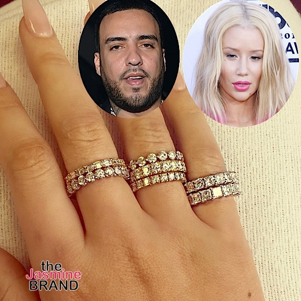 French Montana Gifts Rumored Girlfriend Iggy Azalea 7 Diamond Rings! [Photos]