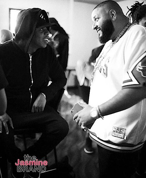 Celebs Spotted at Beyonce's Formation Tour In ATL- Jay Z and DJ Khaled