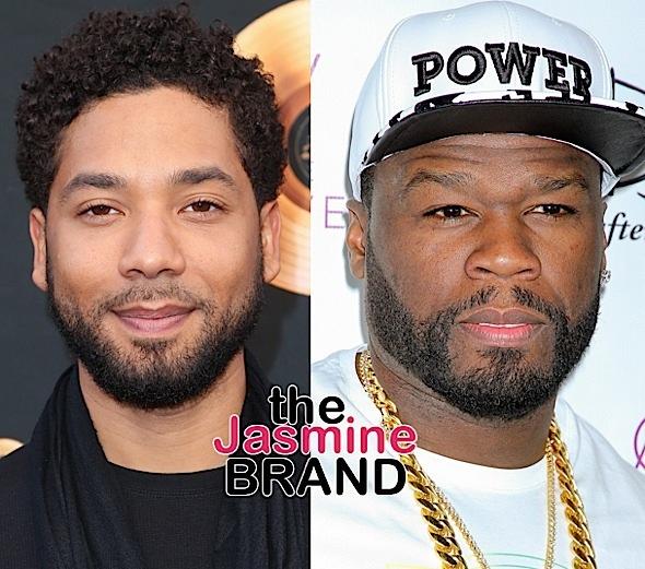 Jussie Smollett, Curtis '50 Cent' Jackson