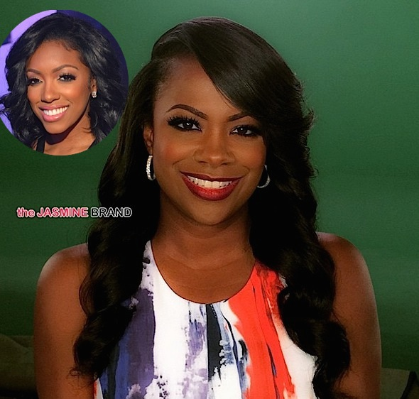 Kandi Burruss Admits Kissing Porsha Williams, Denies Asking For A Threesome [VIDEO]