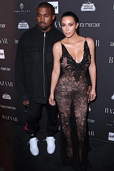 Kanye West Gifts Kim Kardashian Hundreds of Thousands Of Dollars Worth of Stock [VIDEO]