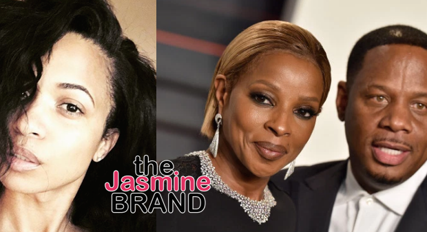 (EXCLUSIVE) Karrine Steffans Fires Off Cease & Desist Over Rumors of Dating Mary J. Blige's Husband