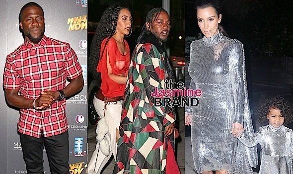 Kendrick Lamar & Fiance Hit Bey's Bash, Kim & North Match For Pablo Tour, Kevin Hart Hosts 'What Now' Concert + O.T. Genasis, Busta Rhymes, Ryan Lewis & Macklemore
