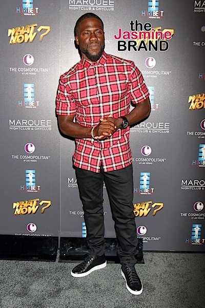 Kevin Hart Admits Getting Violent w/ Ex Wife: We would fight.
