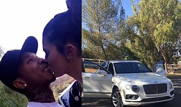 Kylie Jenner Buys Tyga $300k Bentley [VIDEO]