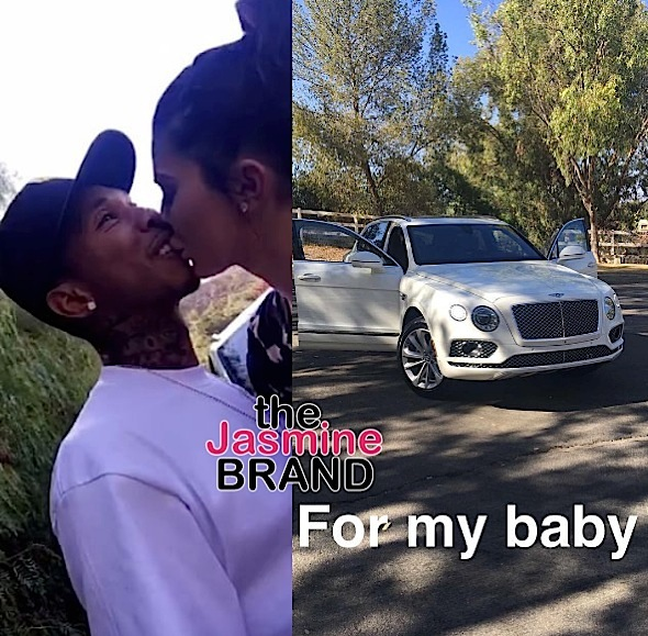 Kylie Jenner Buys Tyga $300k Bentley [VIDEO]