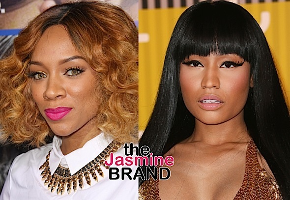 "Lil Mama Addresses Nicki Minaj Beef Rumors: ""I can't teach older women how to be women."""