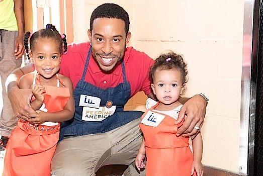 Ludacris FINALLY Reveals Two Daughters Cadence & Cai Bella [Photos]
