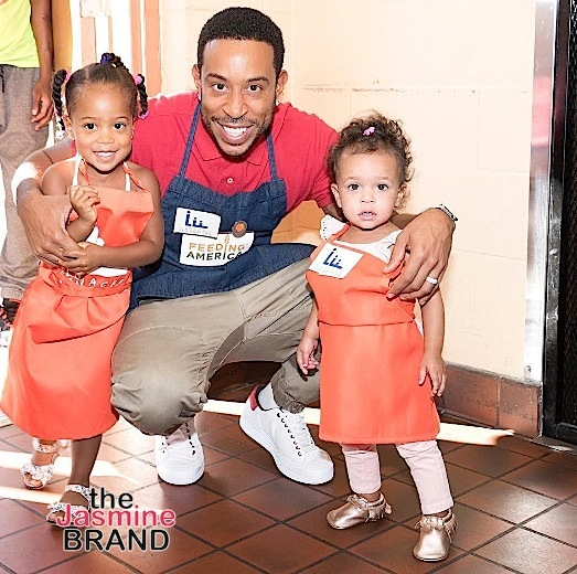 Ludacris FINALLY Reveals Two Daughters Cadence & Cai Bella [Photos]