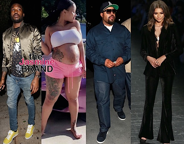 Meek Mill, Blac Chyna, Ice Cube, Zendaya, Mel B, Ice Cube, Eddie Murphy, Keesha Sharp, Mo McRae [Celebrity Stalking]