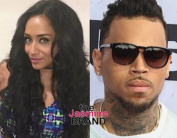 Nia Guzman, Chris Brown