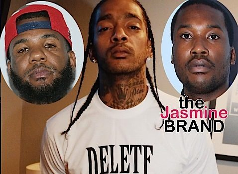 Nipsey Hussle Tries To End Meek Mill vs The Game Feud: Ain't gone be no black men killing black men.