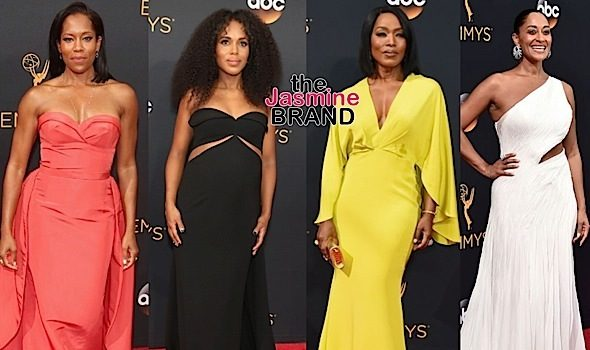Emmys Red Carpet Fashion: Kerry Washington, Regina King, Angela Bassett, Tracee Ellis Ross, Laverne Cox [Photos]