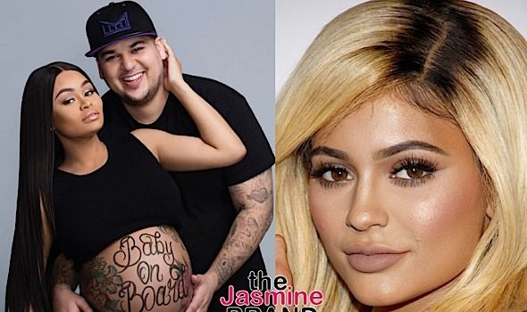 Rob Kardashian Posts Kylie Jenner's Number, After She Plans Baby Shower WITHOUT Inviting Blac Chyna