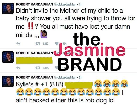 Here's Why Blac Chyna Wasn't Invited To Baby Shower - Blac Chyna Rob Kardashian Tokyo Toni
