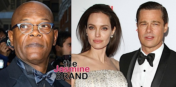 Samuel L. Jackson, Angelina Jolie & Brad Pitt