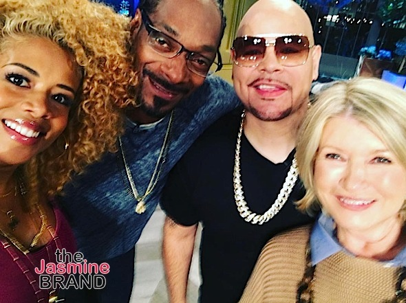 Kelis, Joe Budden & Remy Ma to Appear On 'Martha & Snoop' [Photos]